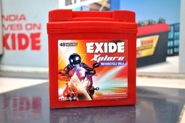 Anupam Enterprise Exide Two Wheeler Battery
