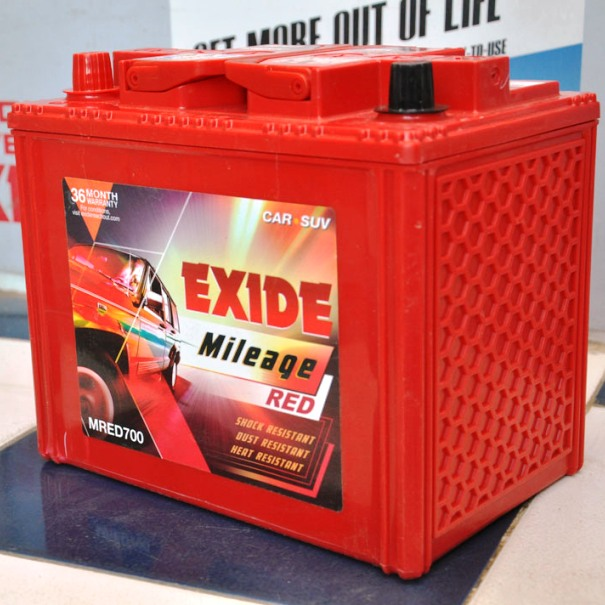Exide Mileage Red / Ezzy